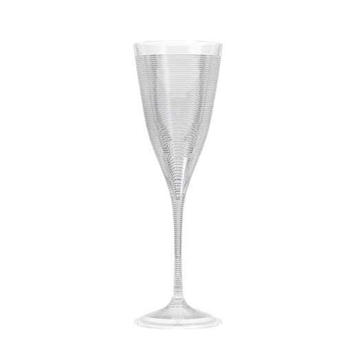 Champagne glass plastic 20 cl.