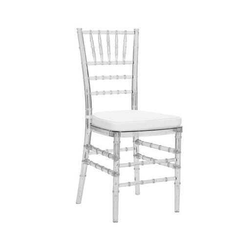 Chiavari chair transparent *cushion incl.