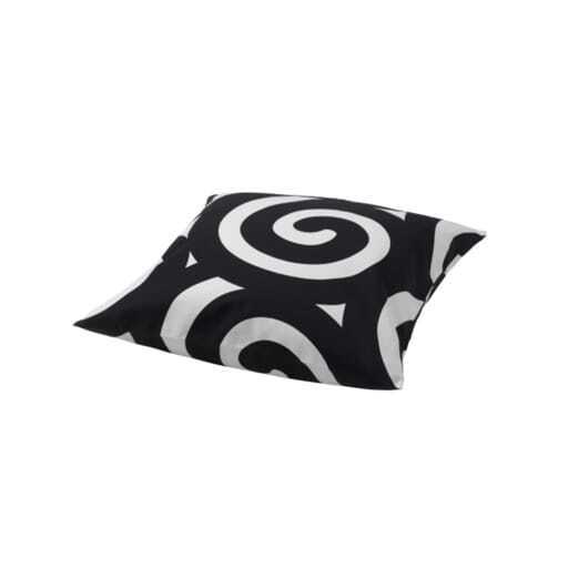 Cushion white & black 50x50 cm.