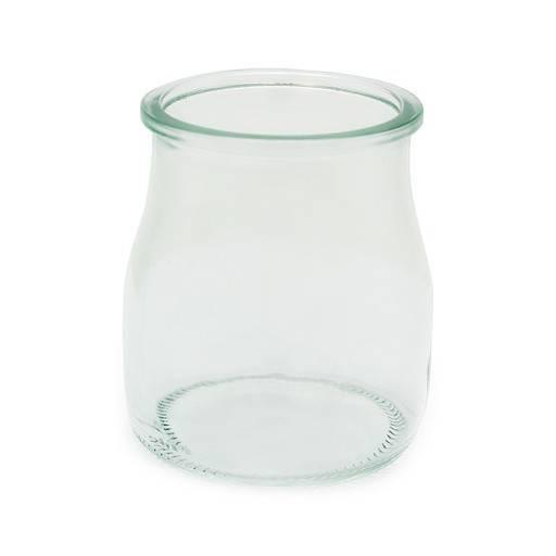 Danone glass 0,1 L.