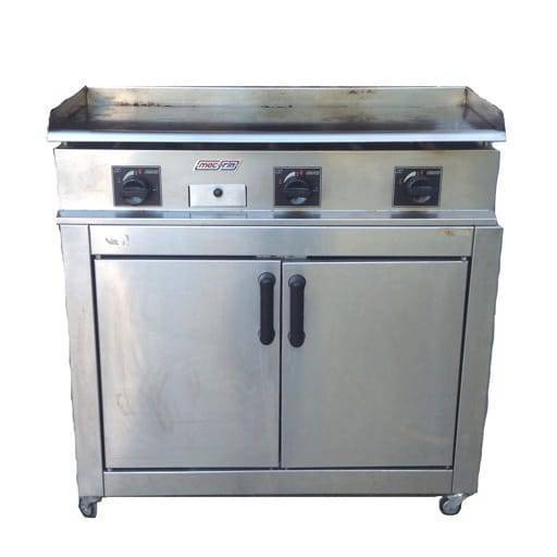 Gas grill (plain) 100x40 cm.