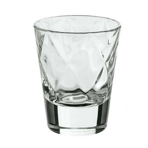 Glass for appetizer with rhombus 0,1 L.