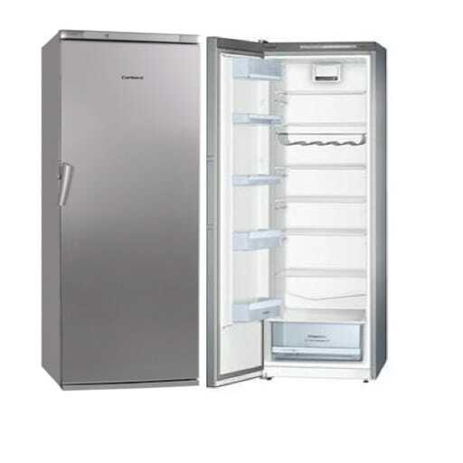 Kühlschrank inox.