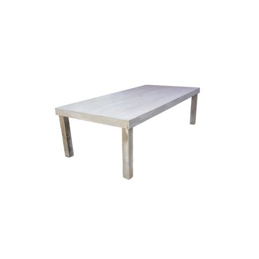 Little Rectangular Wooden Table 62x120 cm.