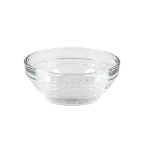 Mini Glas Schüssel 5 cm.