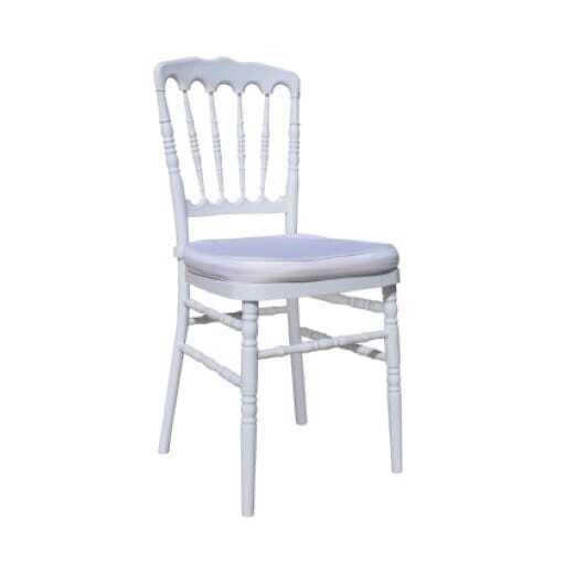 Napoleon chair white *cushion incl.
