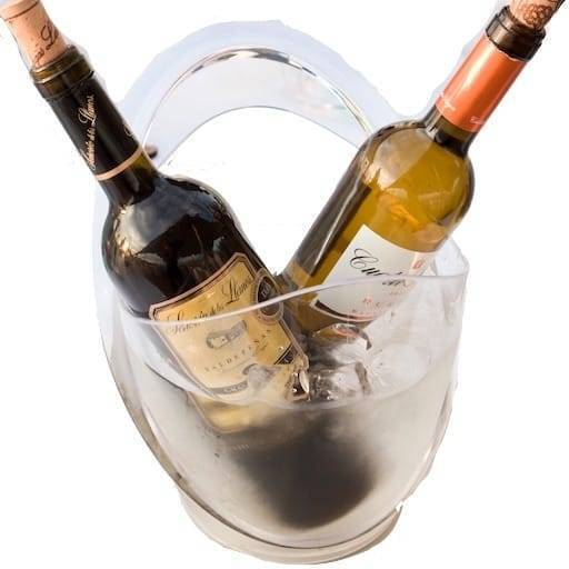 Plastic wine bucket