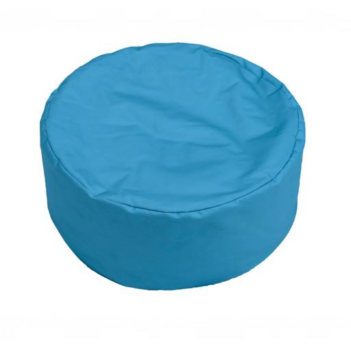 Turquoise green cushion for floor