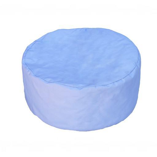 Blaues Kissen für den Boden