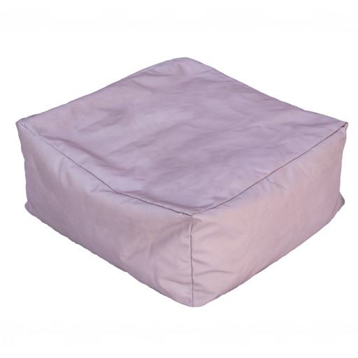 Brown square cushion for floor 50x50 cm.