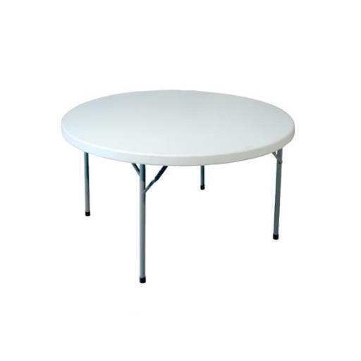 Tisch rund 160 cm.