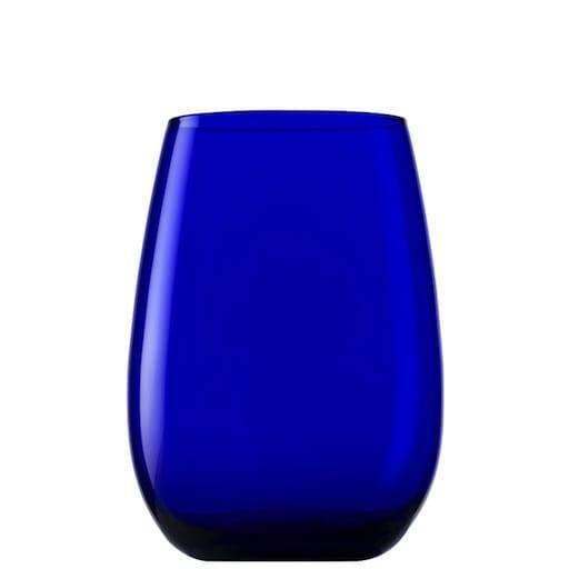 Wasser Glas blau 46 cl.