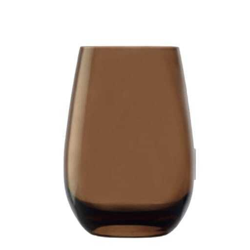 Water glass brown 46 cl.