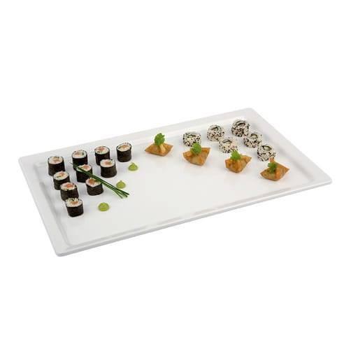 White tray 30x50 cm.