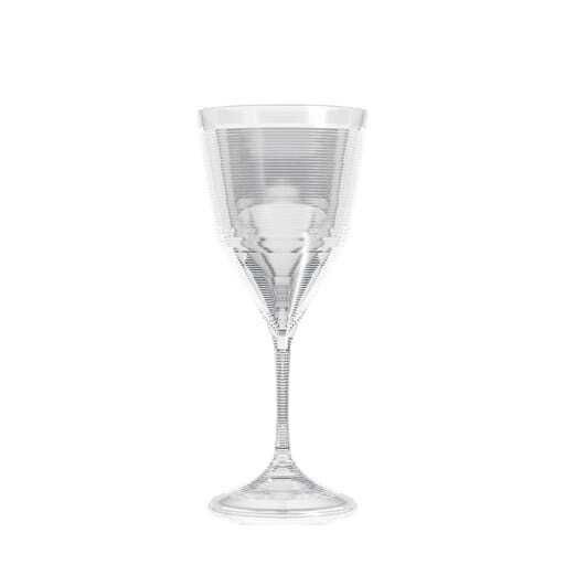 Wine glass plastic 33 cl.